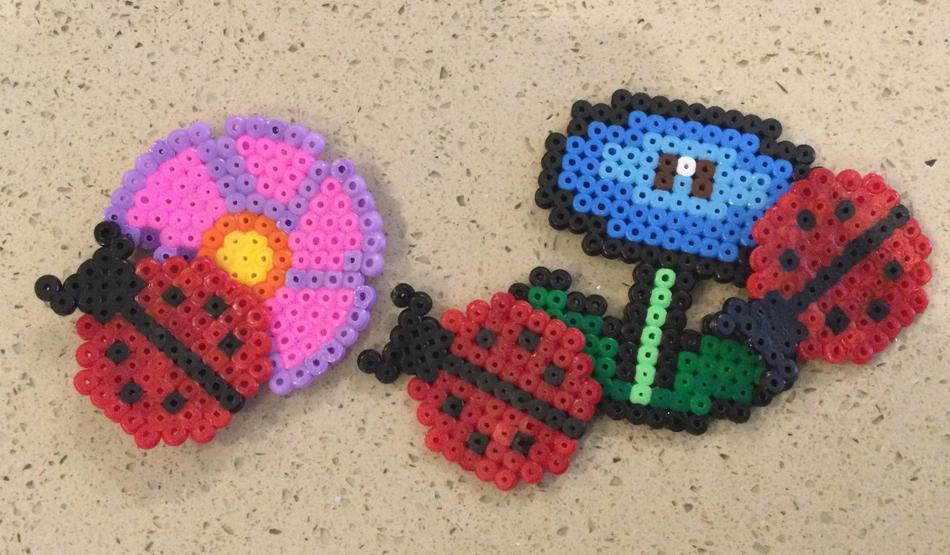 Getting creative with Hama beads