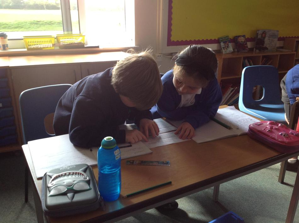 Sequencing the text