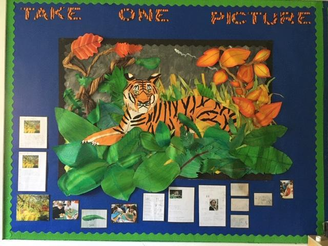 Our completed rainforest