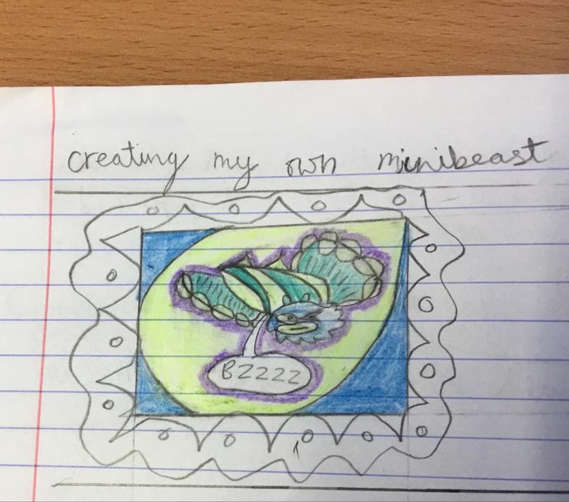 Creating a  fantasy  creepy crawly