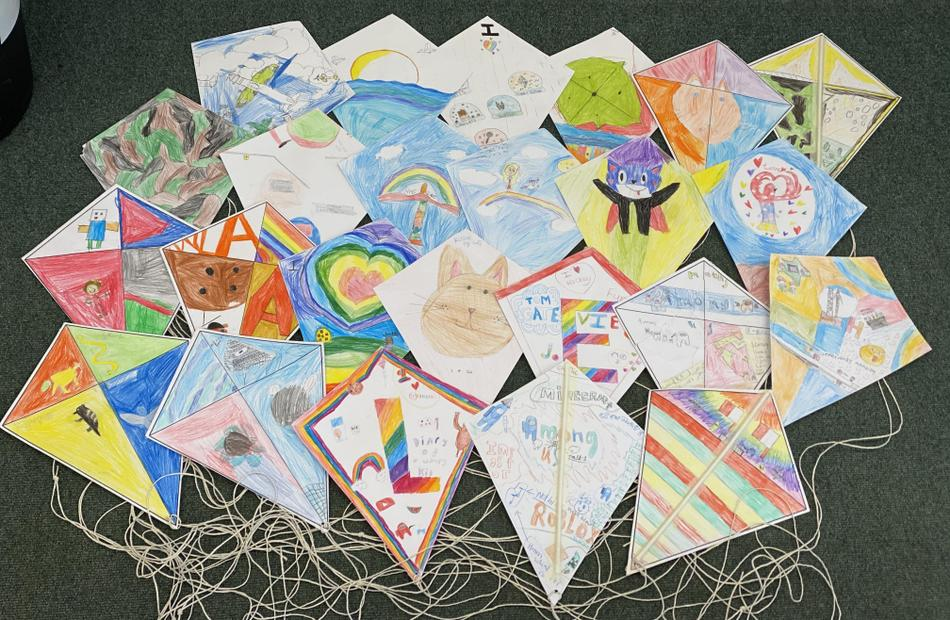 Our kites are our personal reflection of the story My Beautiful Birds