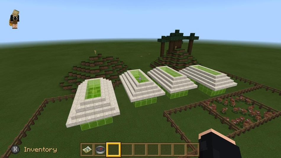 Ellie used Minecraft to create her map of the descriptive writing