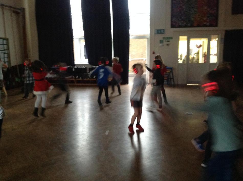 Imaginative dance moves