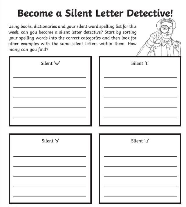 Silent Letter Challenge