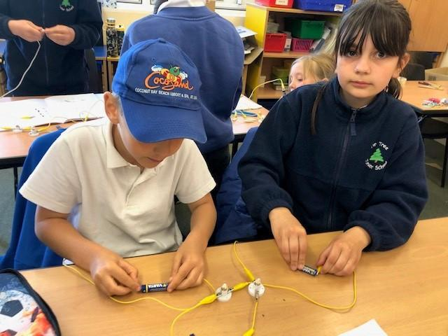We got better at using less wires in our circuits.