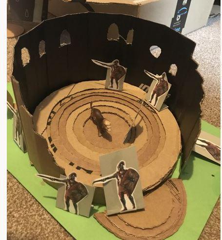 3D Model of Roman Colosseum