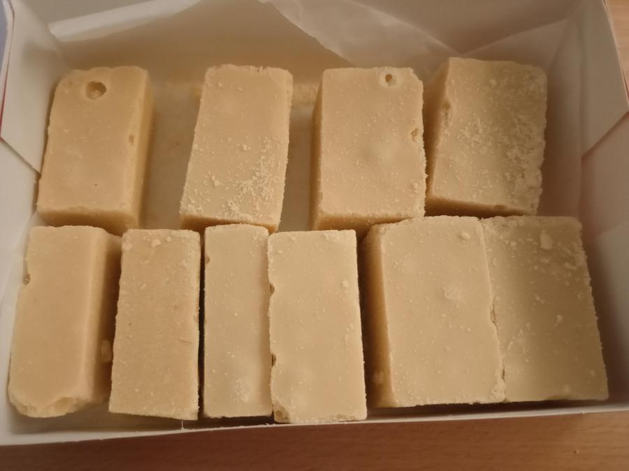 HUGE thank you to Sia's Mummy for sending in barfi for all the children to taste!