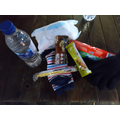 Some of the items in Firs Farm's care packs.