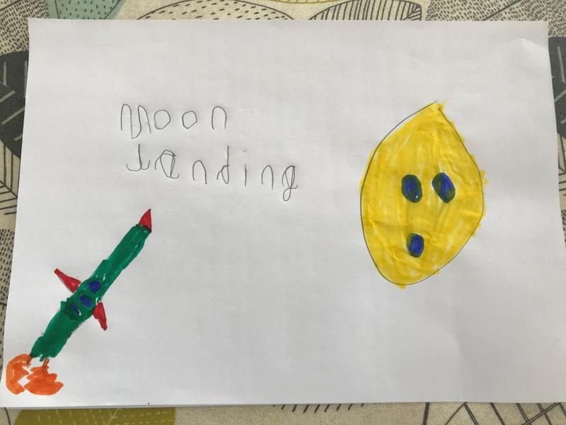 Henry's Grandma remembers the moon landing in 1969