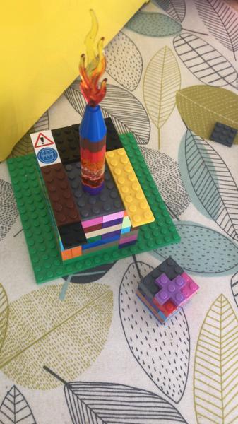 Henry's Lego cake and birthday present!