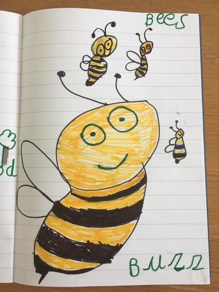 An un-bee-lievably good bee, Poppy!