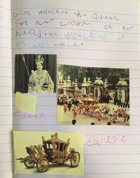 Jessica's grandpa remembers the coronation in 1953
