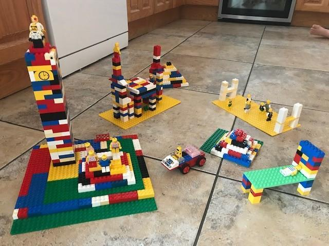 Henry has been making amazing Lego models.