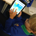 In Year 2, online phonics games help children who are kinetic learners.