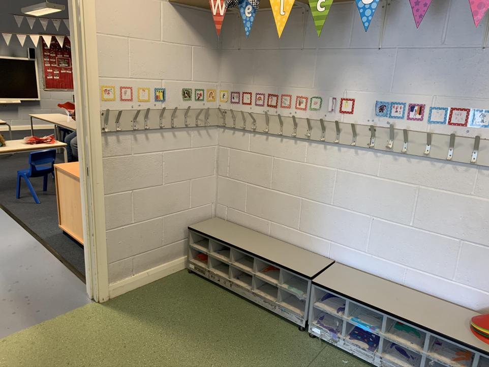 Holly class  1 cloakroom