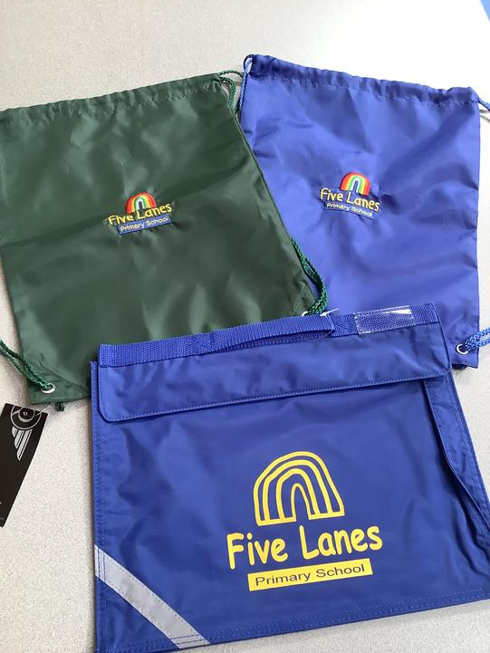 Book Bags cost £5 and Pump Bags £4.
