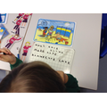 In Year 1 playing Phonics I-Spy using split digraphs.
