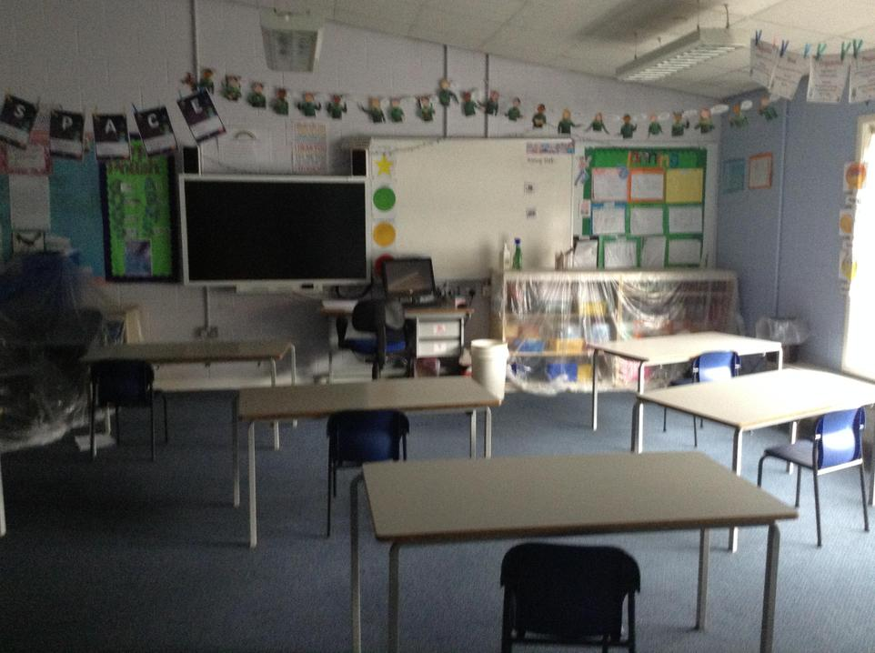 Inside Poplar classroom