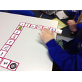 In Year 1 matching phonemes to the correct pictures.