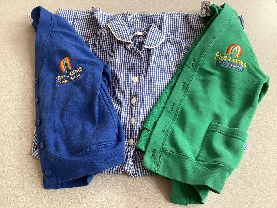 A sample of our uniform.