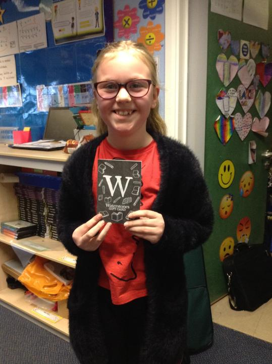 Book Character Prize Winner