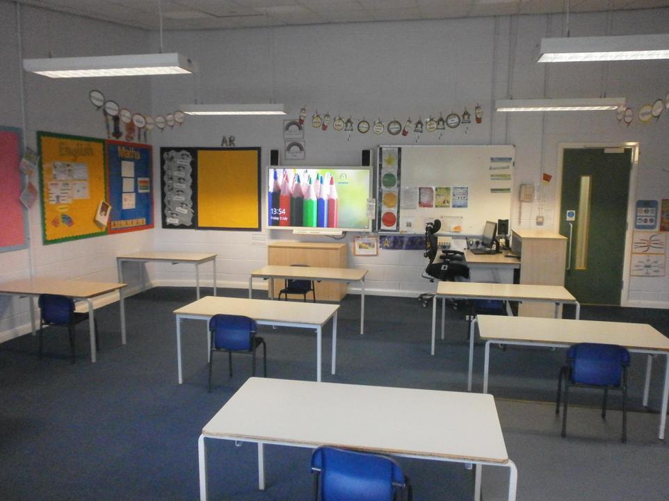 Inside Silver Birch classroom