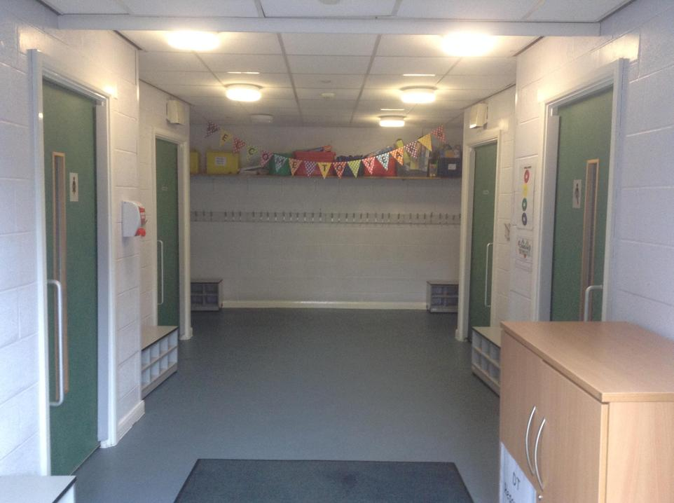 Year 6 cloakroom -toilets
