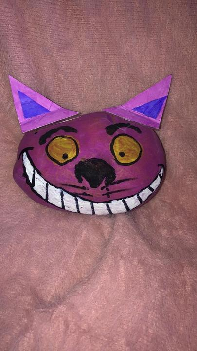 The team at World Book Day chose Cheshire cat as the winner.