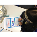 In Year 1 using resources to engage in practical learning.