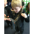 Slinky linky snake...