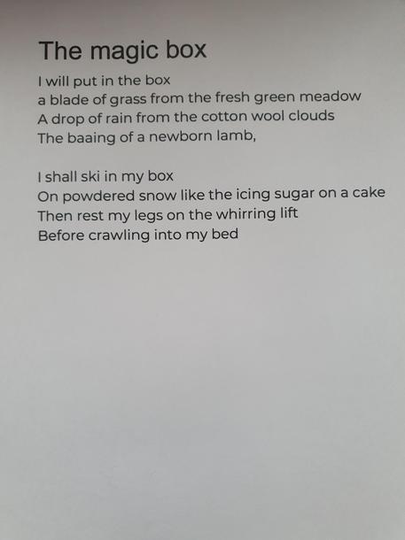 Fraser's magic box poem