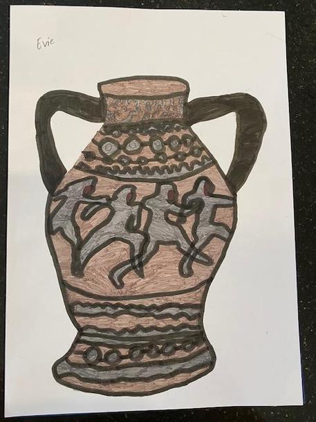 Evie's Greek vase