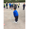 Maths - playing the incy wincy spider counting game