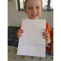 M has been busy writing!