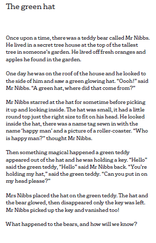 Ellis' Green Hat Story