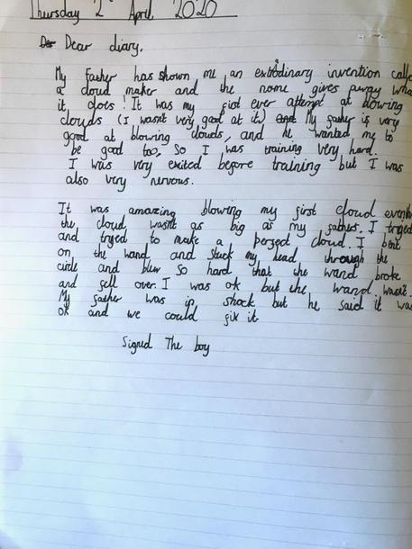 A Cloudy lesson diary #1