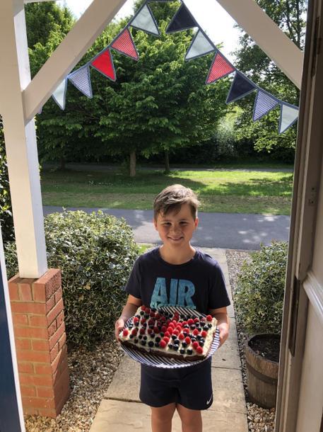 VE celebration cake!