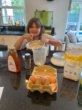 Making Greek Honey Cake