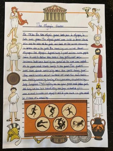Evie's Ancient Greece research