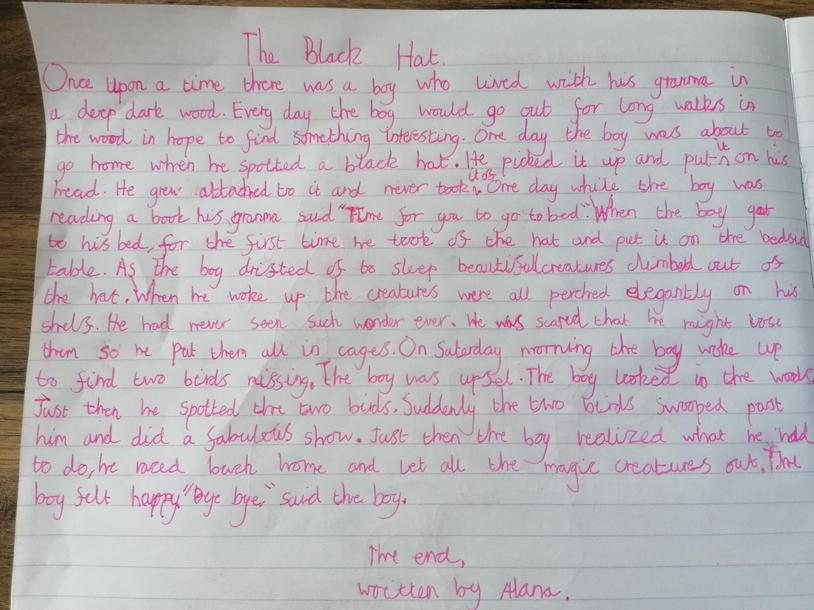 Alana's Black Hat story