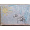 Molly's Kenya postcard.