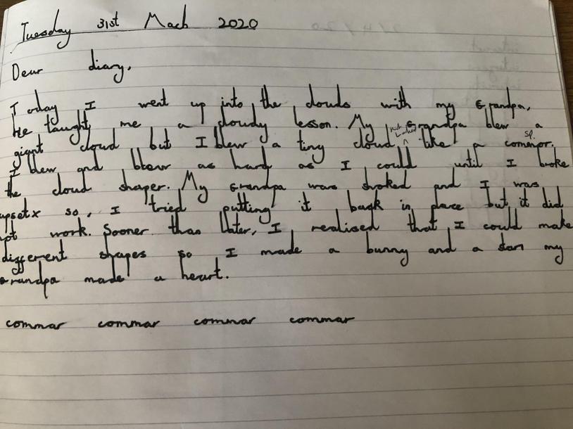 A cloudy Lesson Diary #3