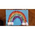 A beautiful rainbow Arlo, well done!