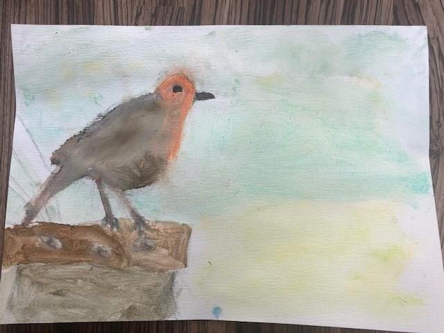 Freya's fantastic robin!