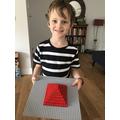 A super Lego pyramid!