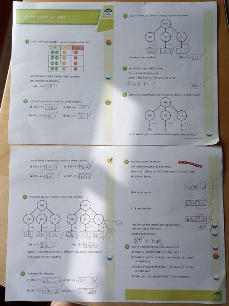 Eleanor's maths