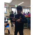 Exploring African instruments