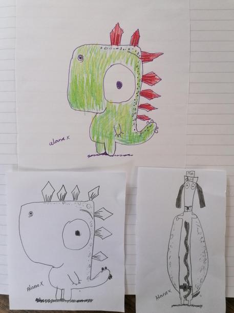 Alana's fab cartoons!