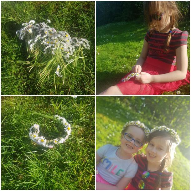 Beautiful daisy chains