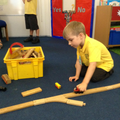 Creating a train track